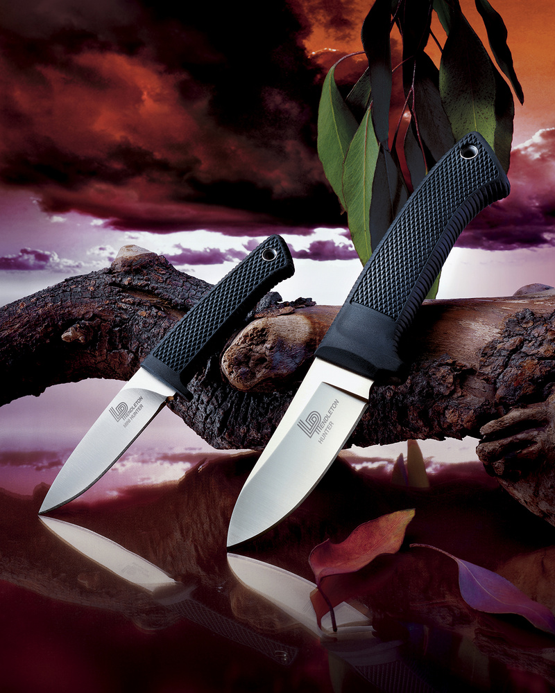 Two Knives by Michael Barroca