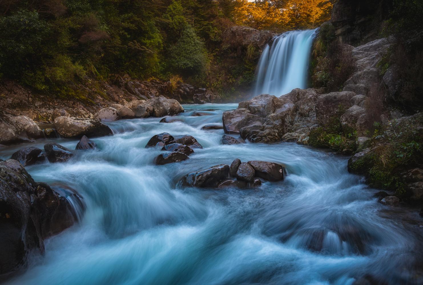 Gollum's Pool (Tawhai Falls) by Chris Wain