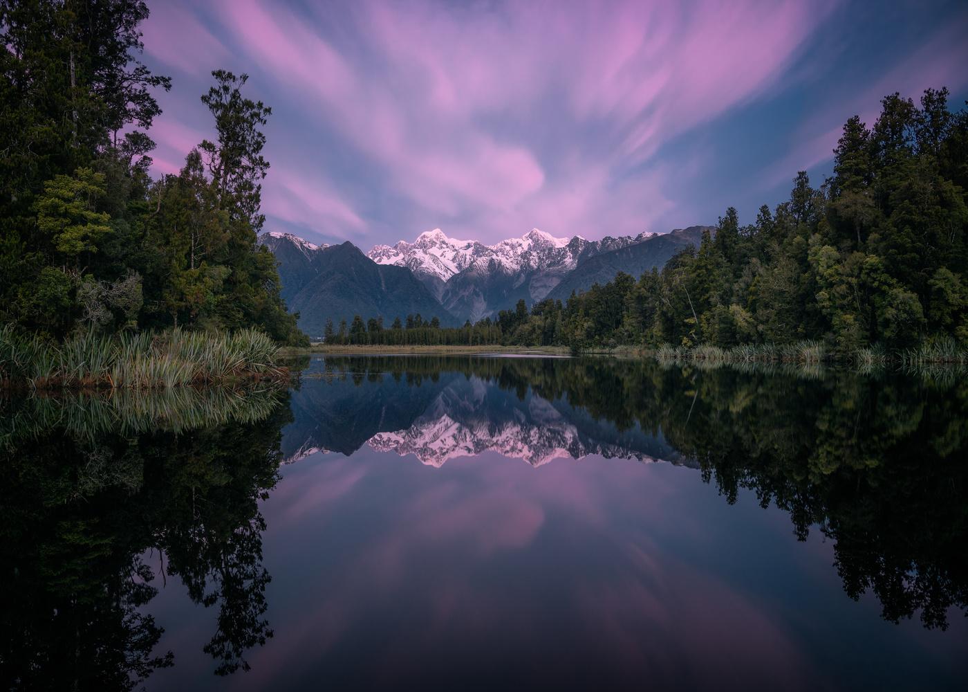 Lake Matheson by Chris Wain