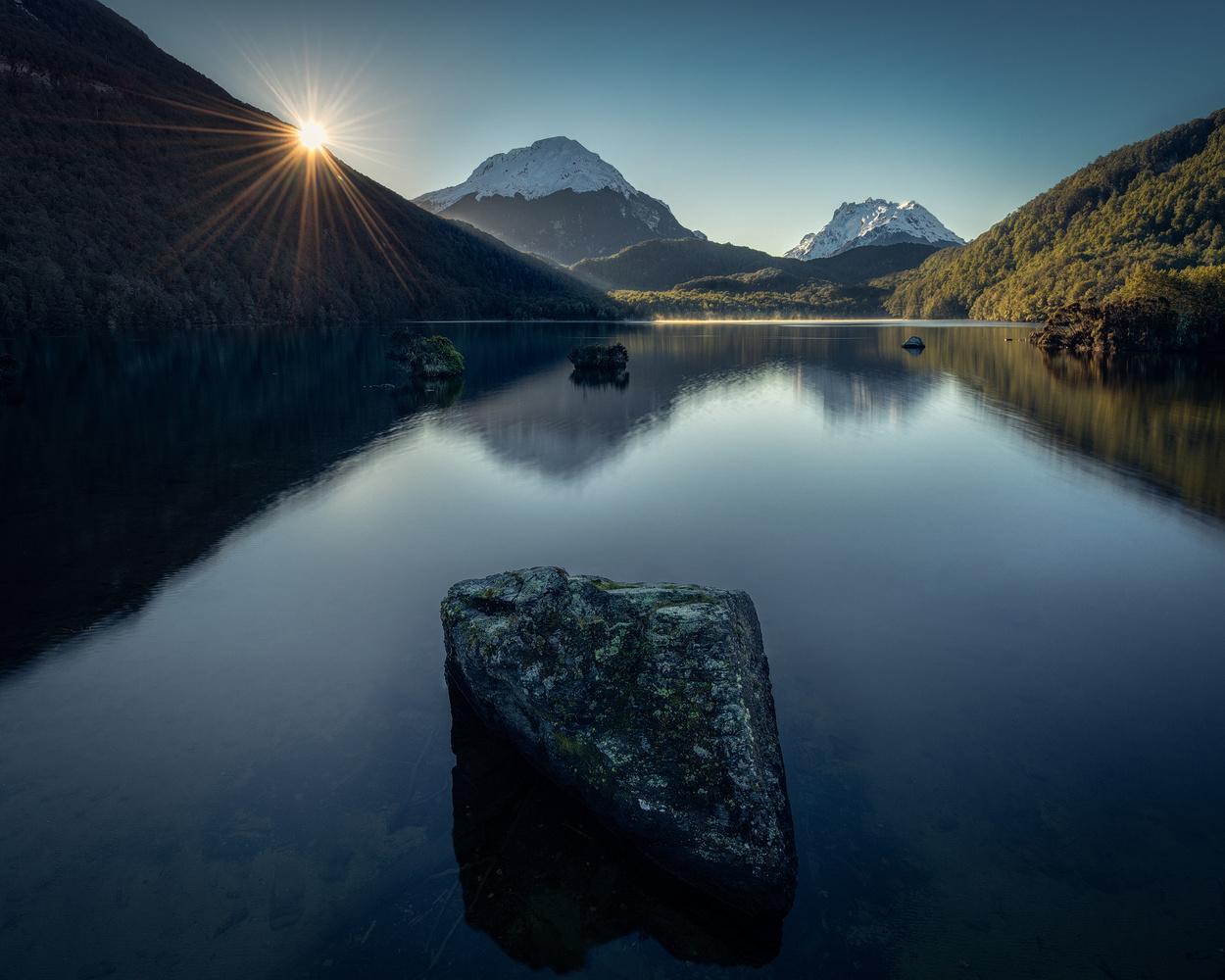 Lake Sylvan, New Zealand by Chris Wain