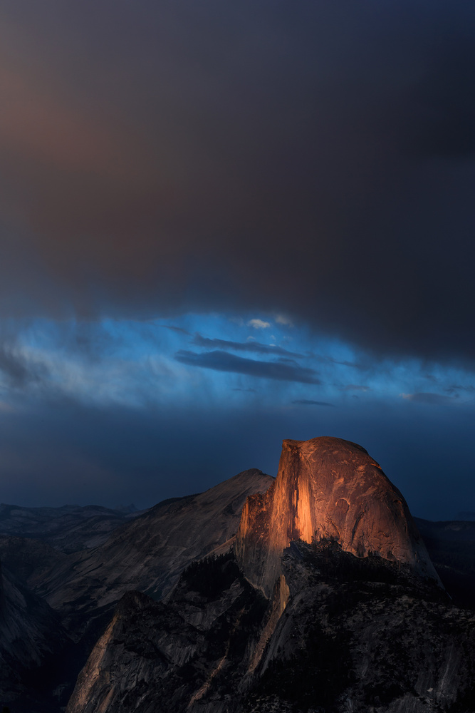 Half Dome by Ross Thayer