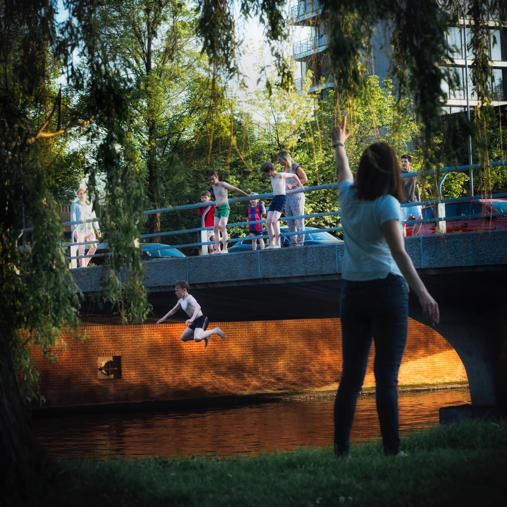 Amsterdam Summer by Marina Khaustova