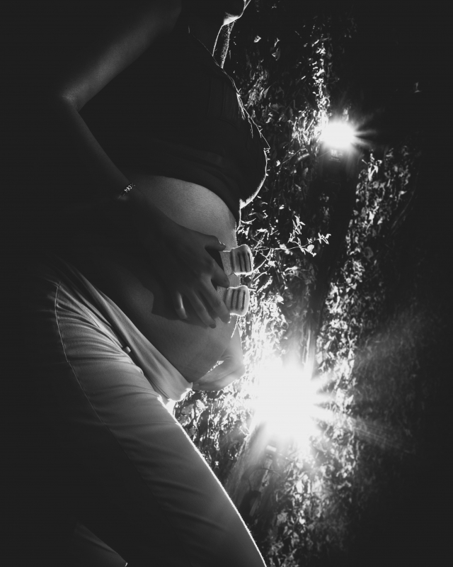 Pregnancy silhoutte by Daniel Flores