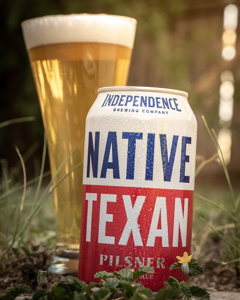 Independence Native Texan Pilsner by Dustin Wenger