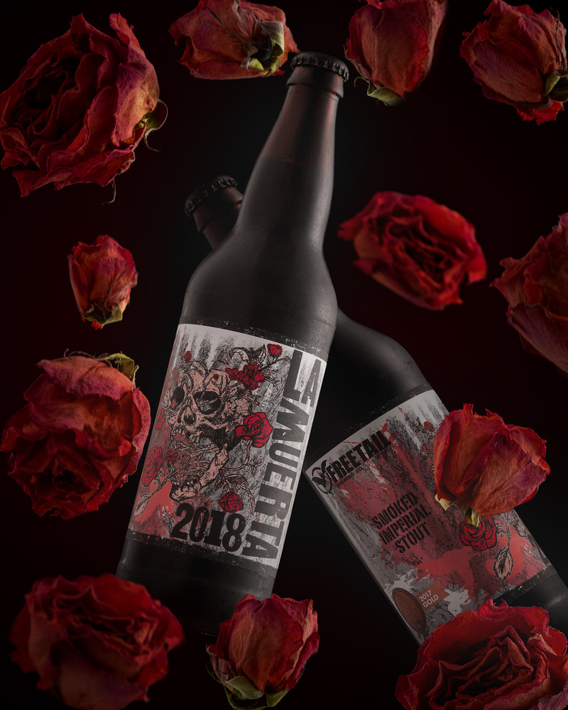 Freetail Brewing - La Muerta smoked imperial stout by Dustin Wenger