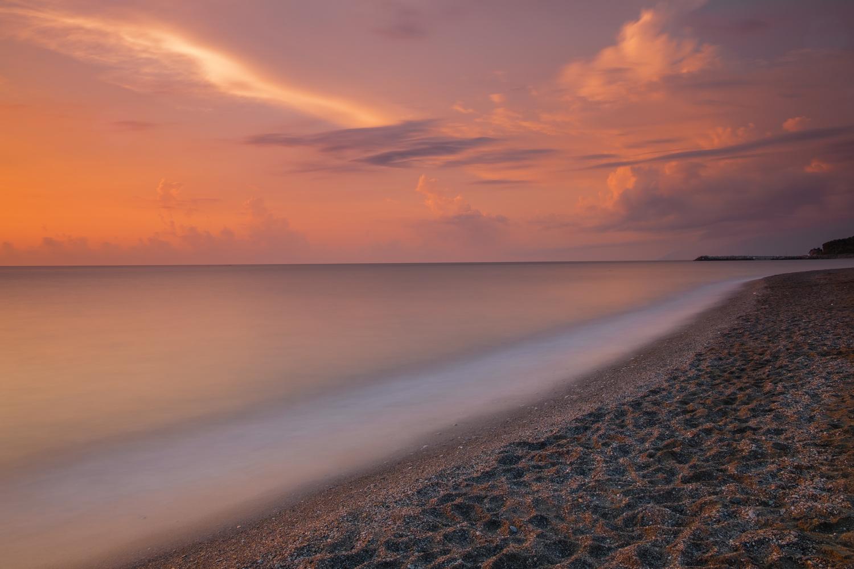 Sunrise seascape by Alexander Staridas