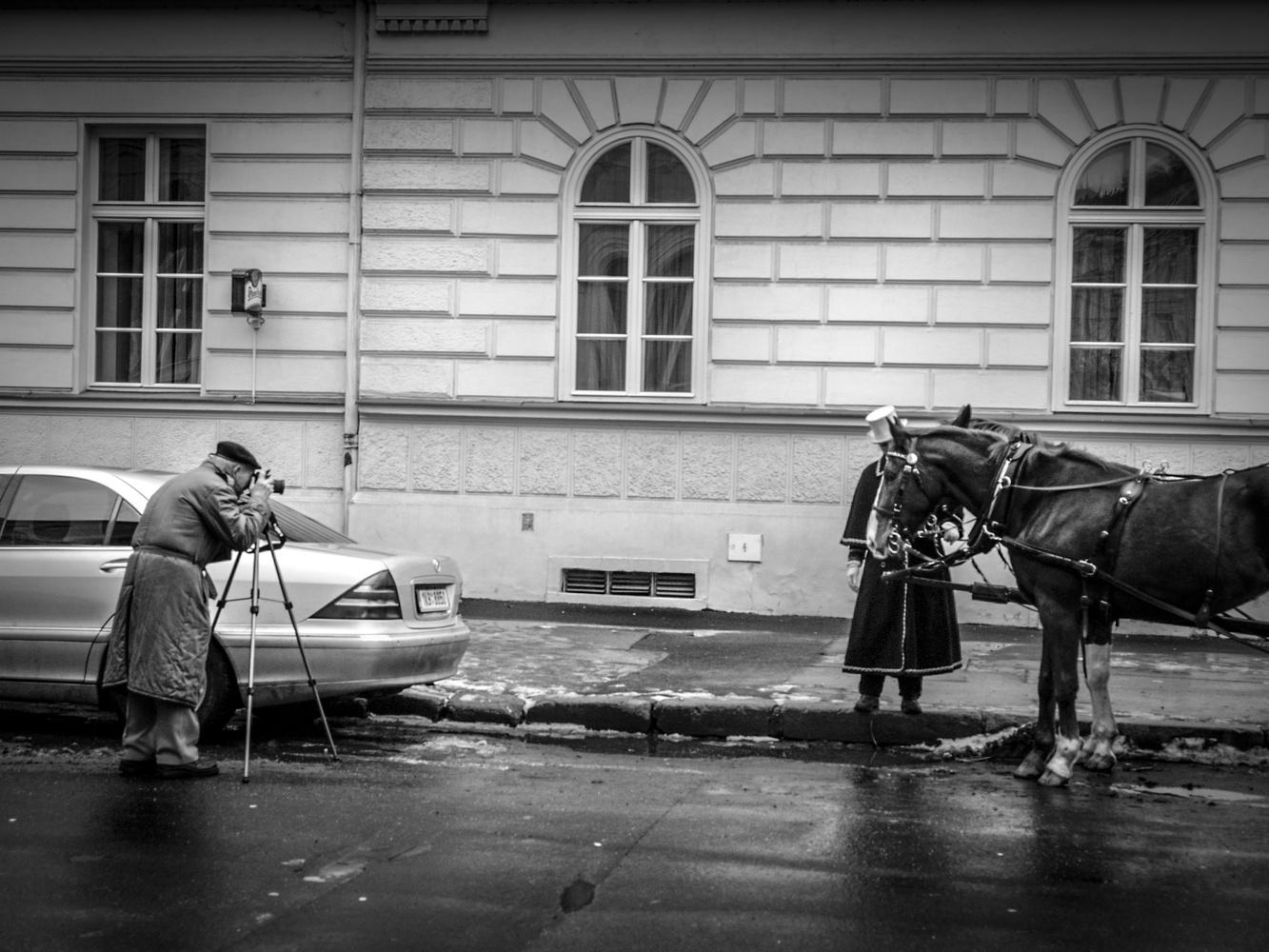The photographer by Alexander Staridas