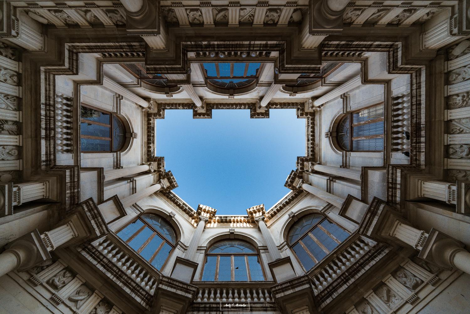 The old cityhall of Heraklion by Ghita Alexandru