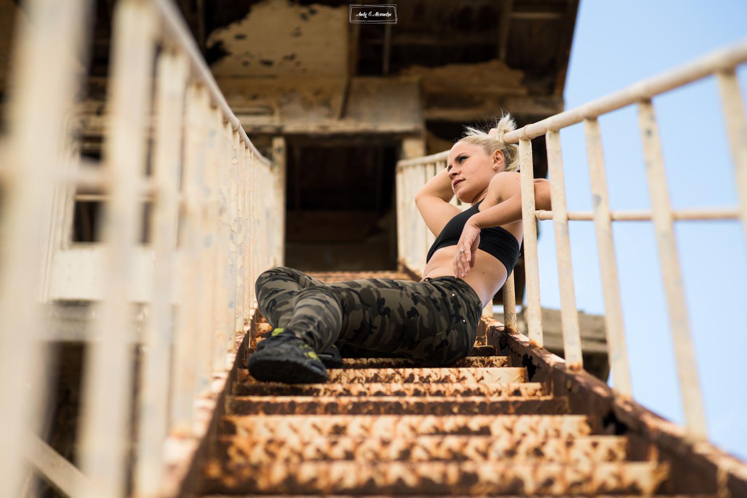 Army girl by Ghita Alexandru