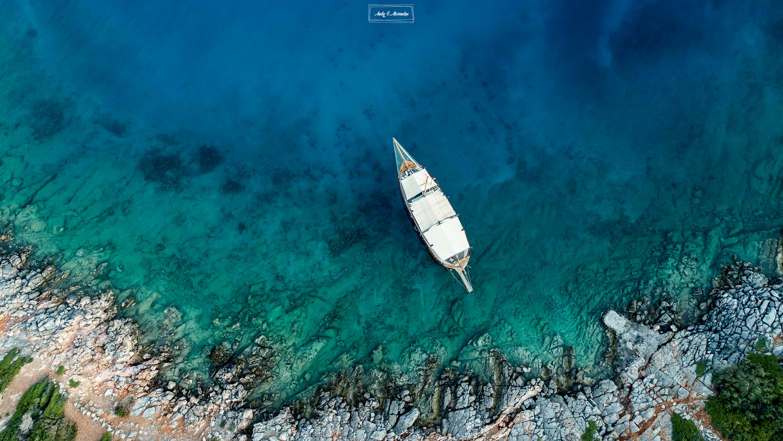Lonely boat by Ghita Alexandru