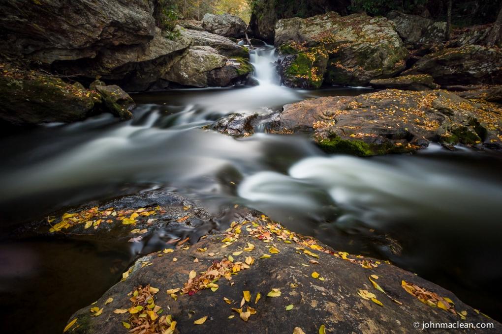 Cullasaja River - Time Exposure by John MacLean