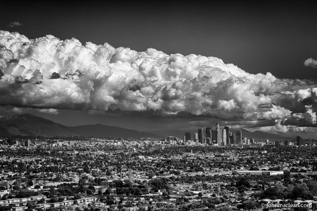 Storm Clouds over Los Angeles by John MacLean