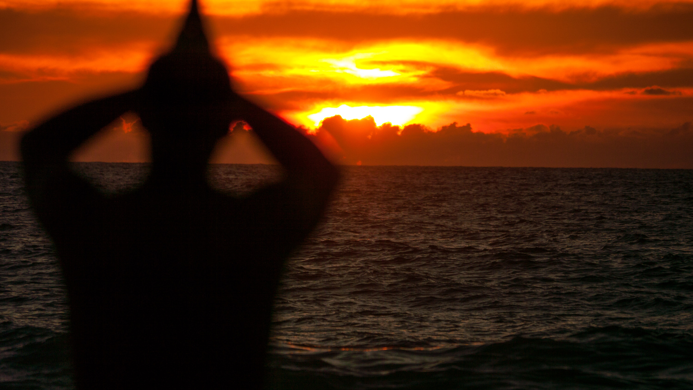 Big Island Sunsets by Rameses Mendoza