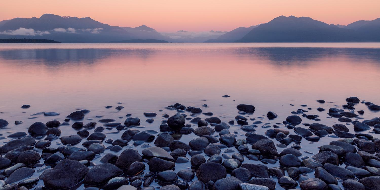 Lake Te Anau at Sunrise by Will Dale