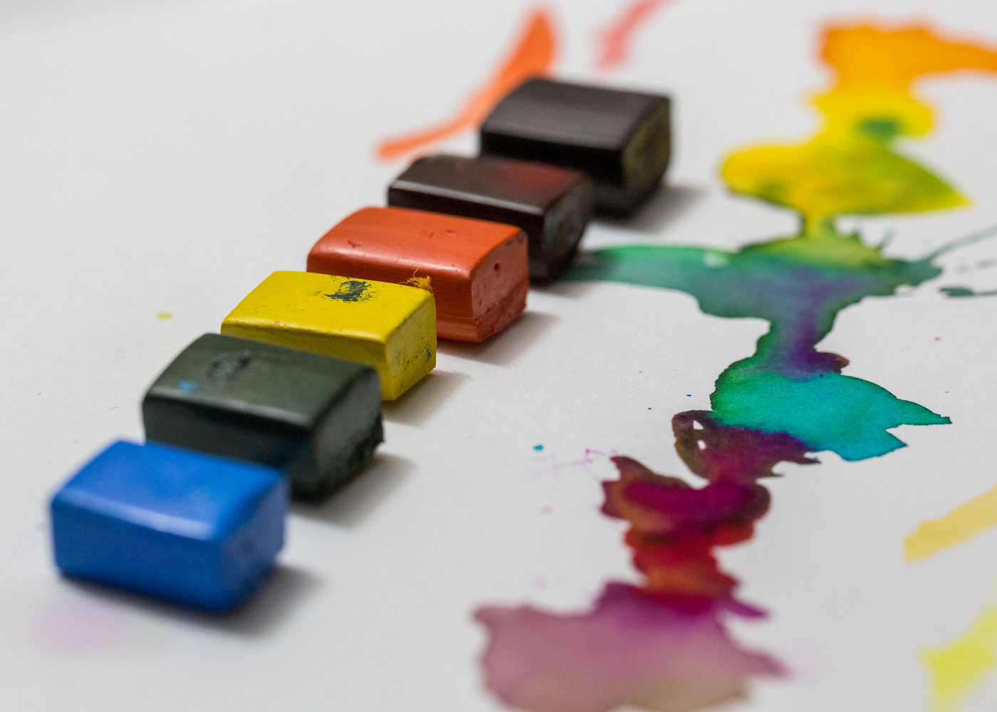 Watercolor Blocks by James Terry
