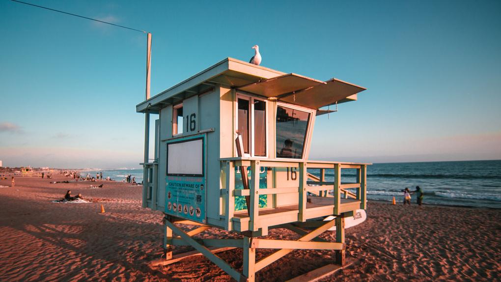 Santa Monica Beach by Marcus Rodert