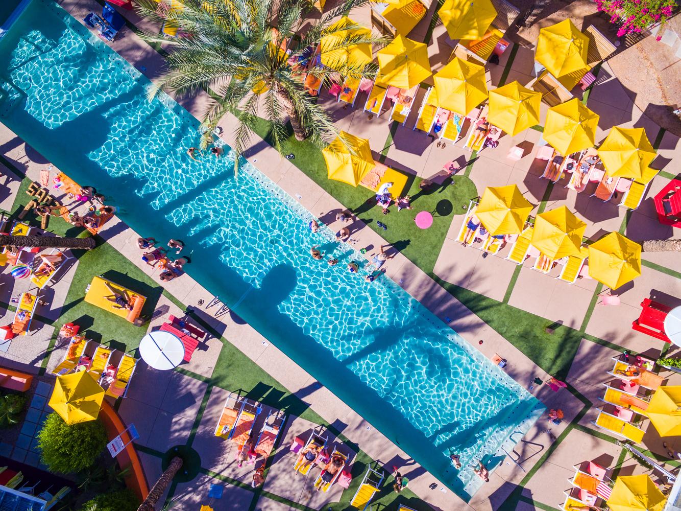 Saguaro Pool by Richard Hart