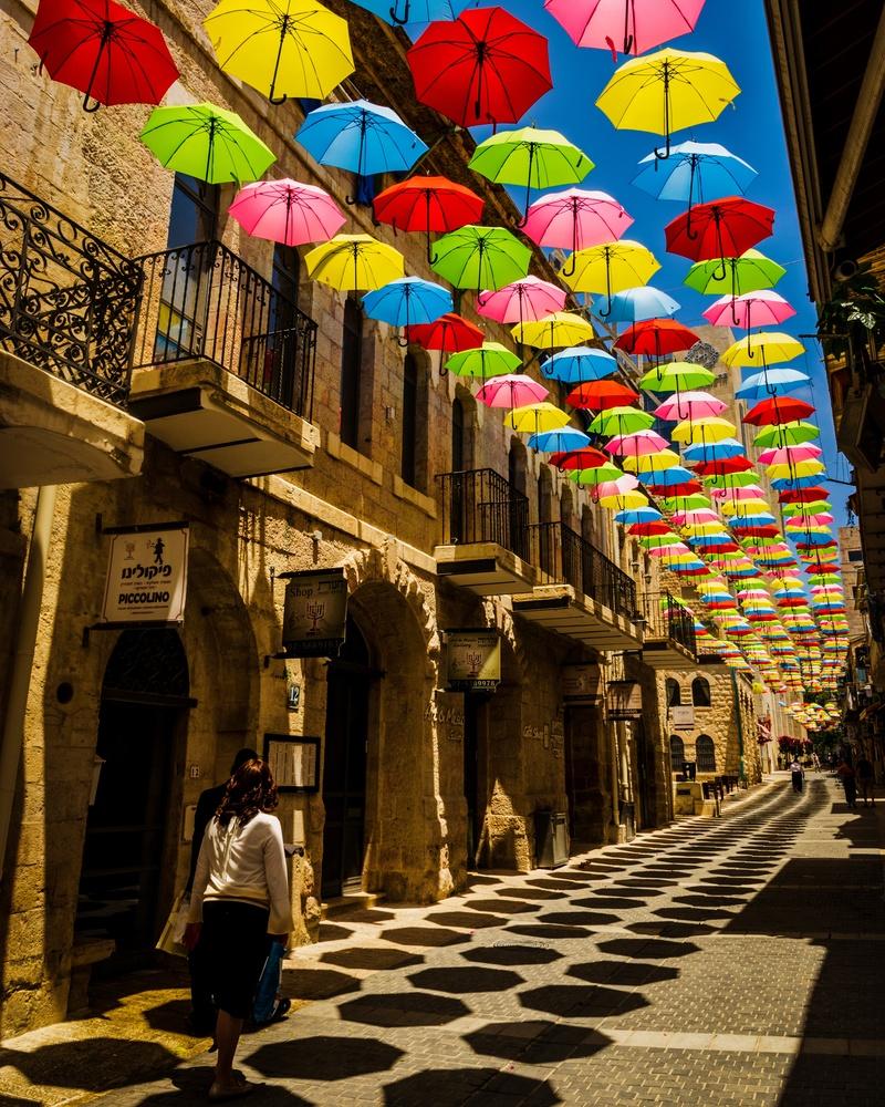 Colorful Jerusalem by Marcus Sapir