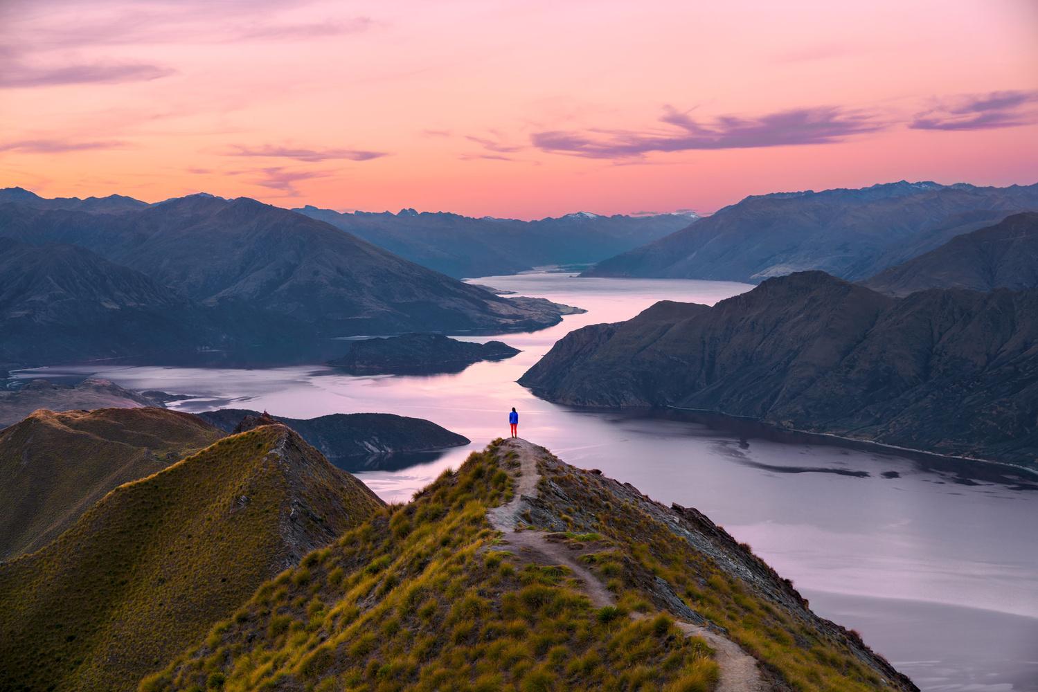 Roy's Peak Track by Autumn Schrock