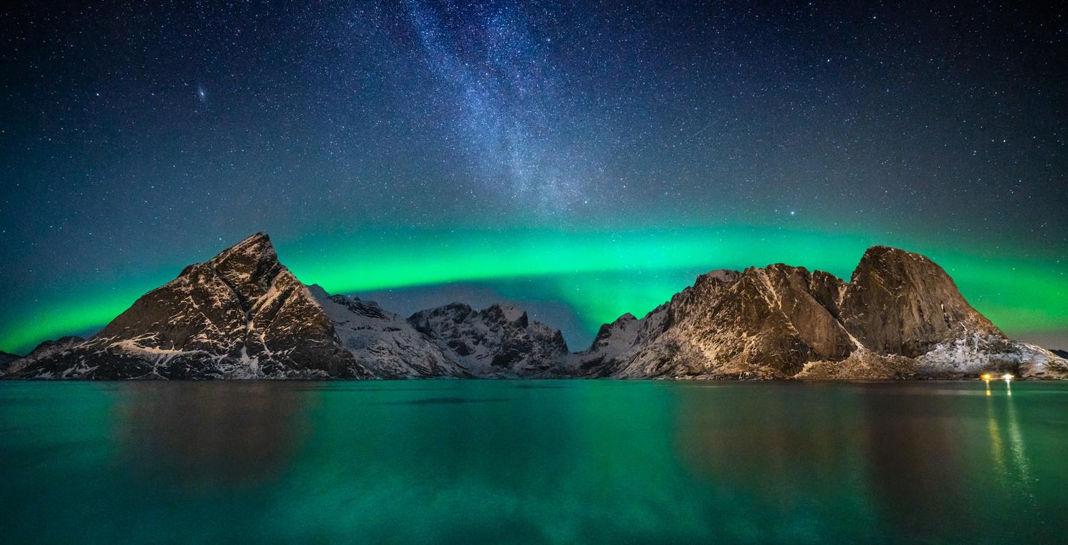 Aurora + Milky Way by Autumn Schrock