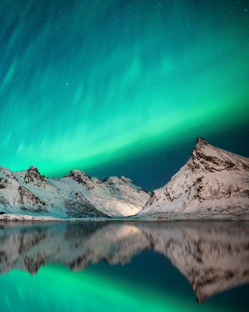 Aurora Reflections by Autumn Schrock