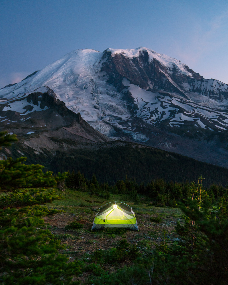 Camping at Baenier by Autumn Schrock