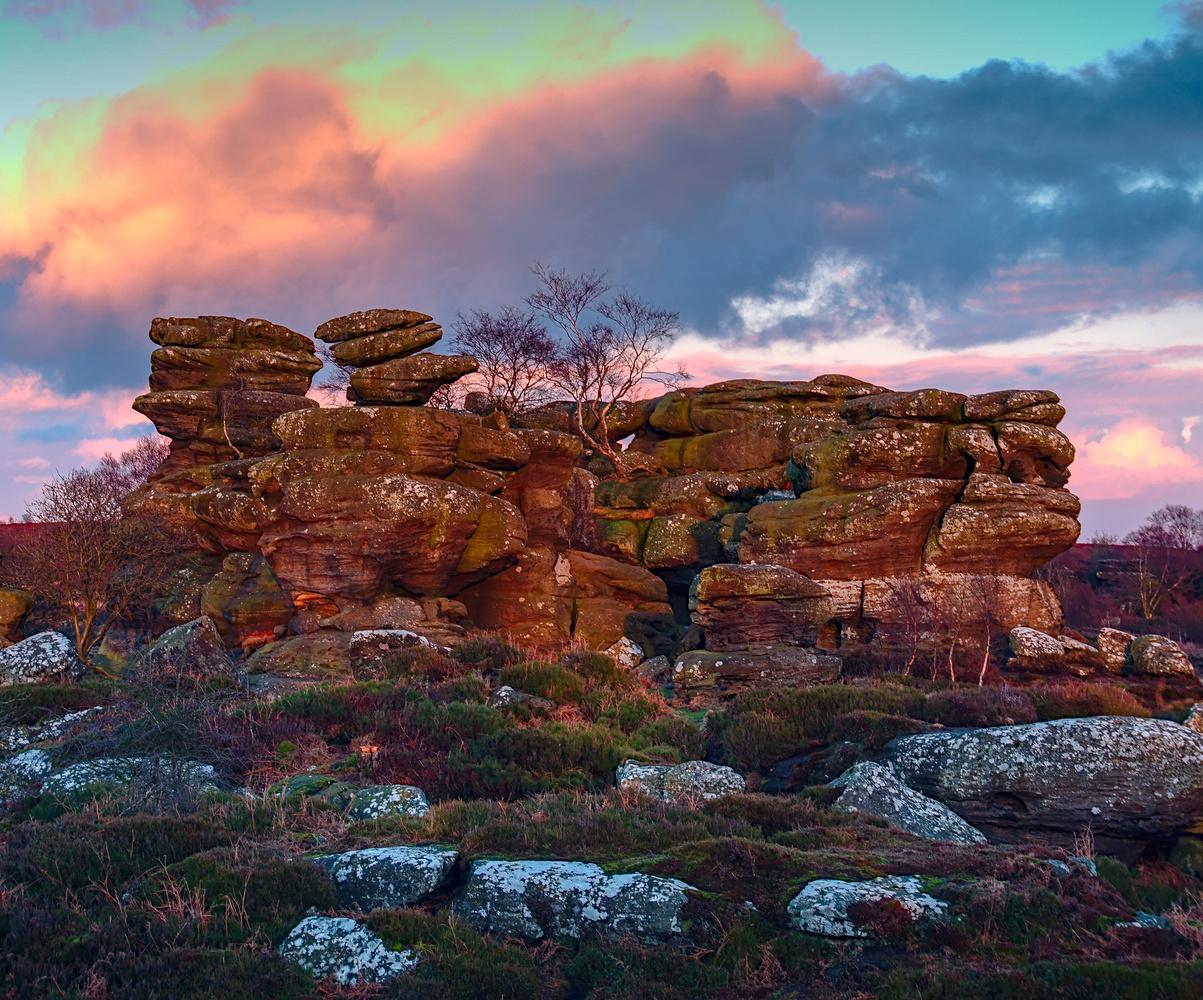 Balancing Rocks of Brimham by Dean McGlone