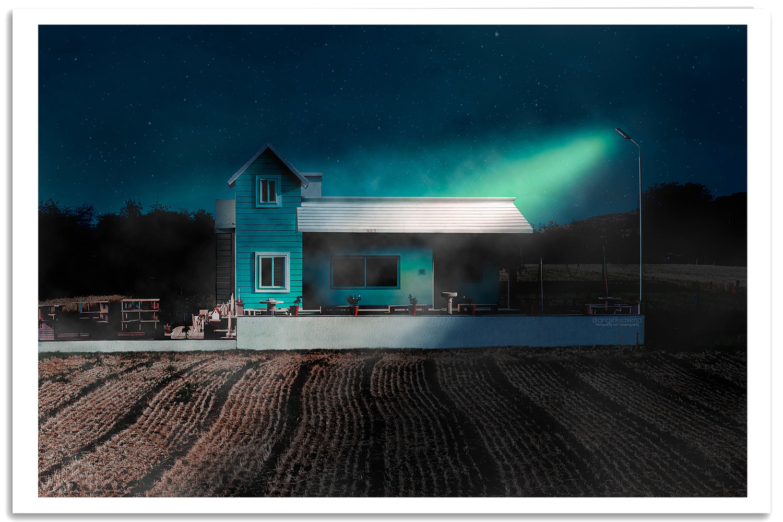 The Farmhouse by Angel Saxena