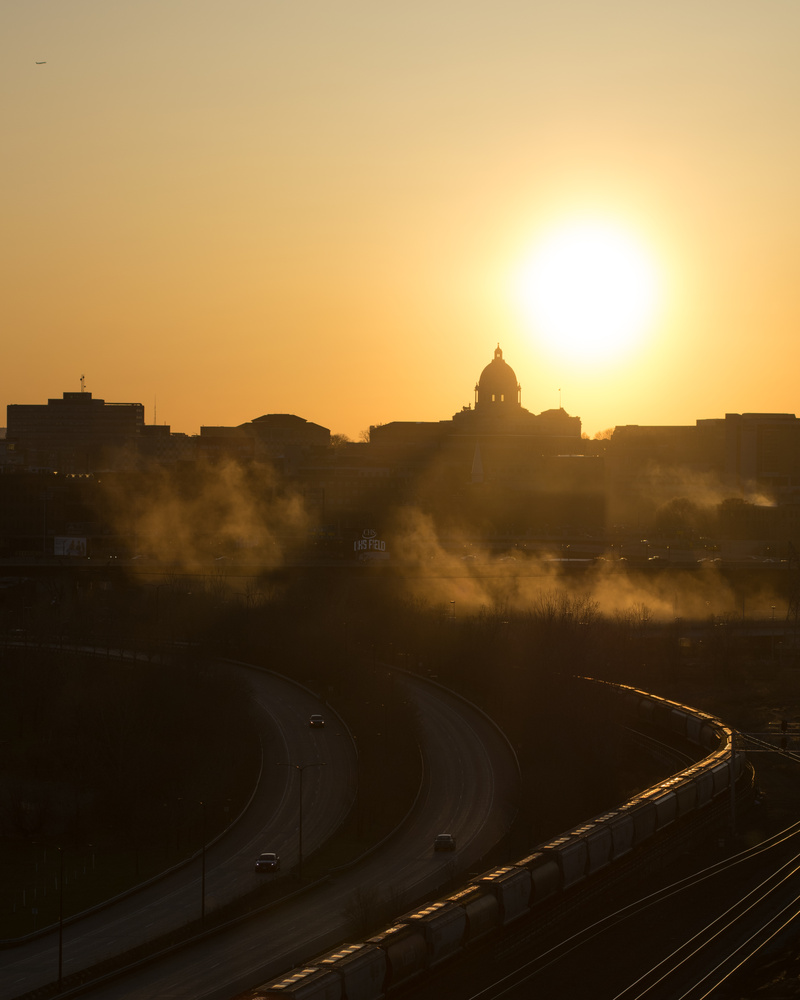 Capital Sunsets by Michael Hoefer