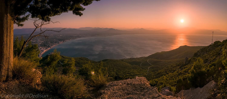 Corinthian Gulf by Giorgos Ntentis