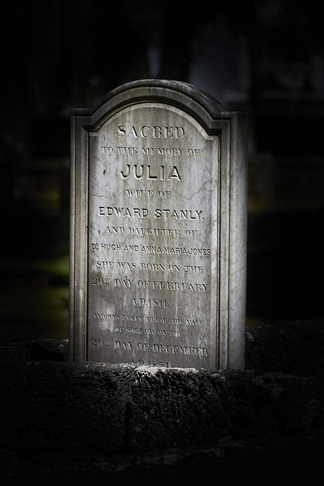 Cemetery by Frank Davis