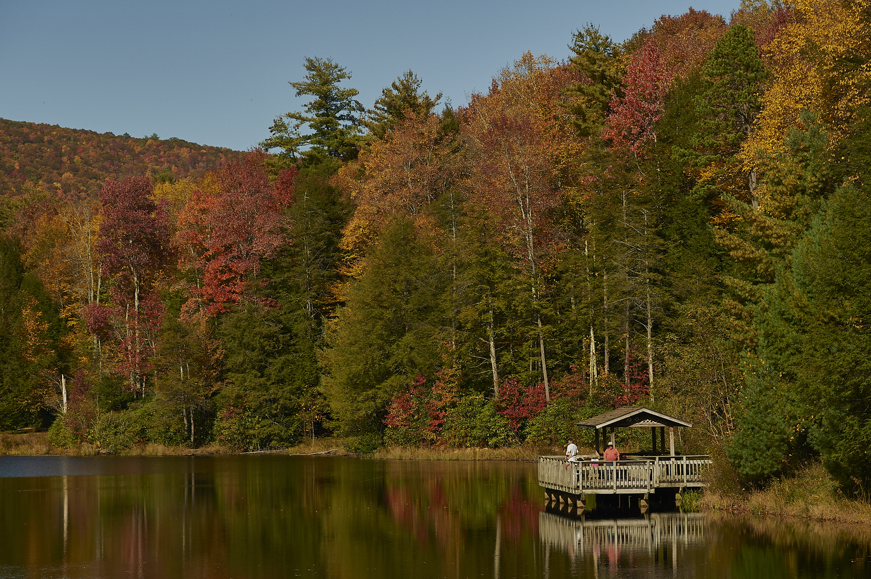 Fall Fishing by Frank Davis
