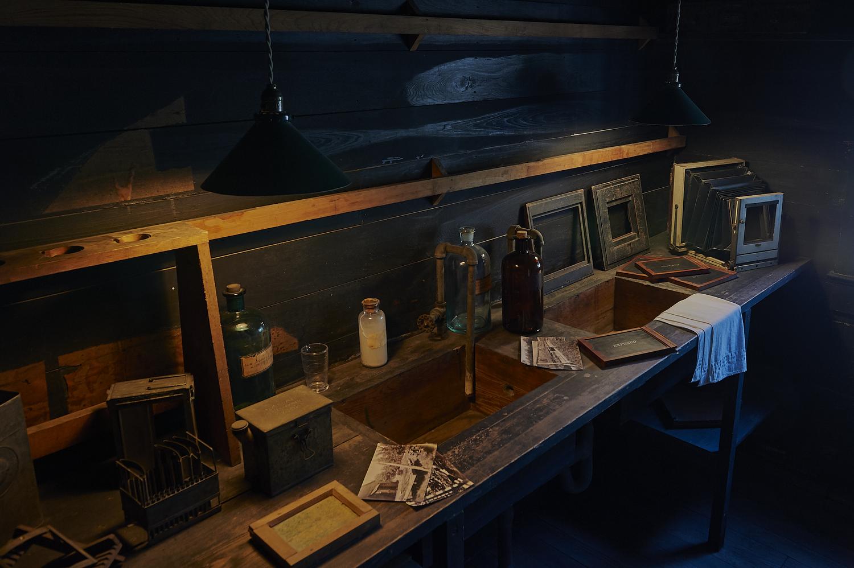 Thomas Edison Darkroom by Frank Davis