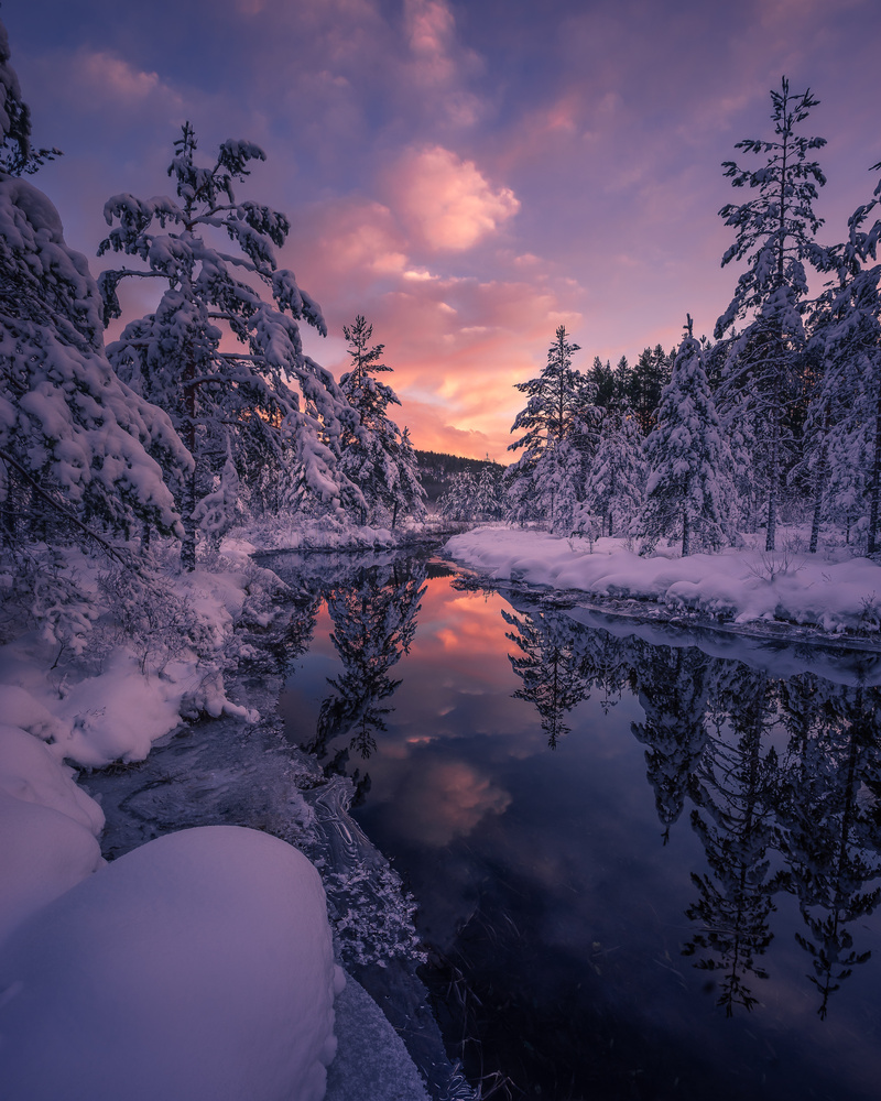 Winter, Norway by Roger Kristiansen