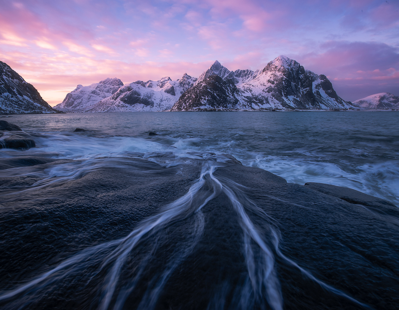 Epic sunrise in amazing Lofoten by Roger Kristiansen