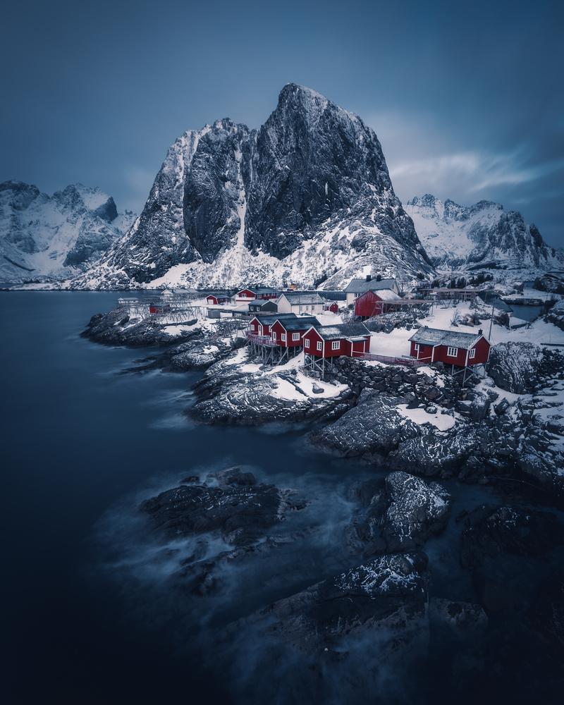 Hamnøy, Lofoten by Roger Kristiansen