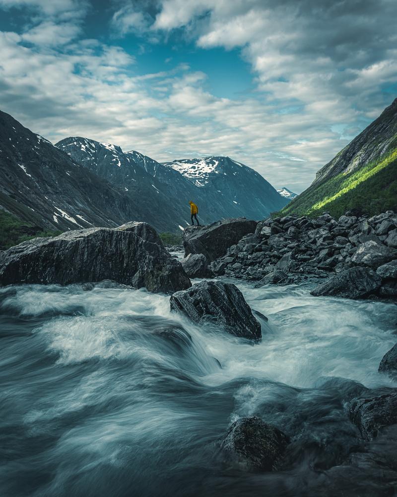 Norwegian landscape by Roger Kristiansen
