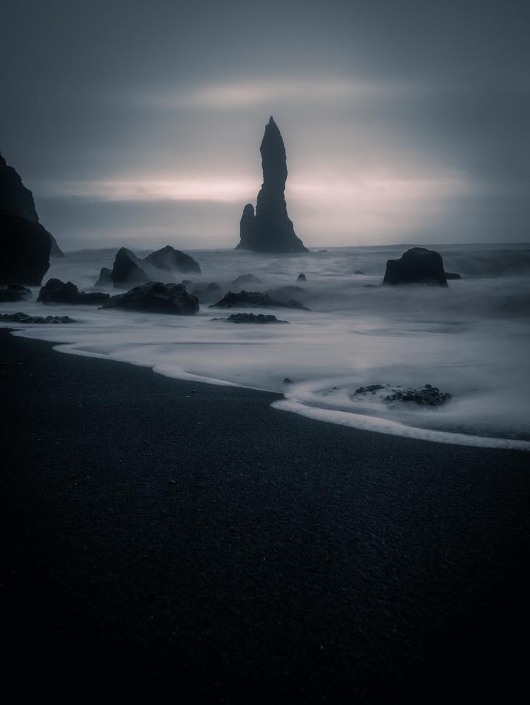 The Sea Stacks of Vík í Mýrdal, Iceland by Roger Kristiansen