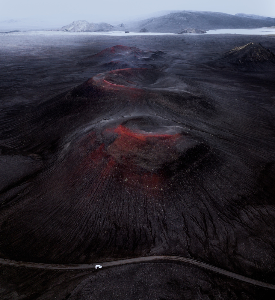 Volcanic craters of Iceland by Roger Kristiansen