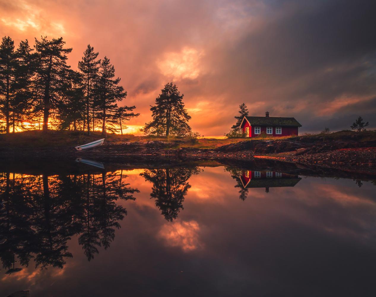 Some epic sunset light! by Roger Kristiansen
