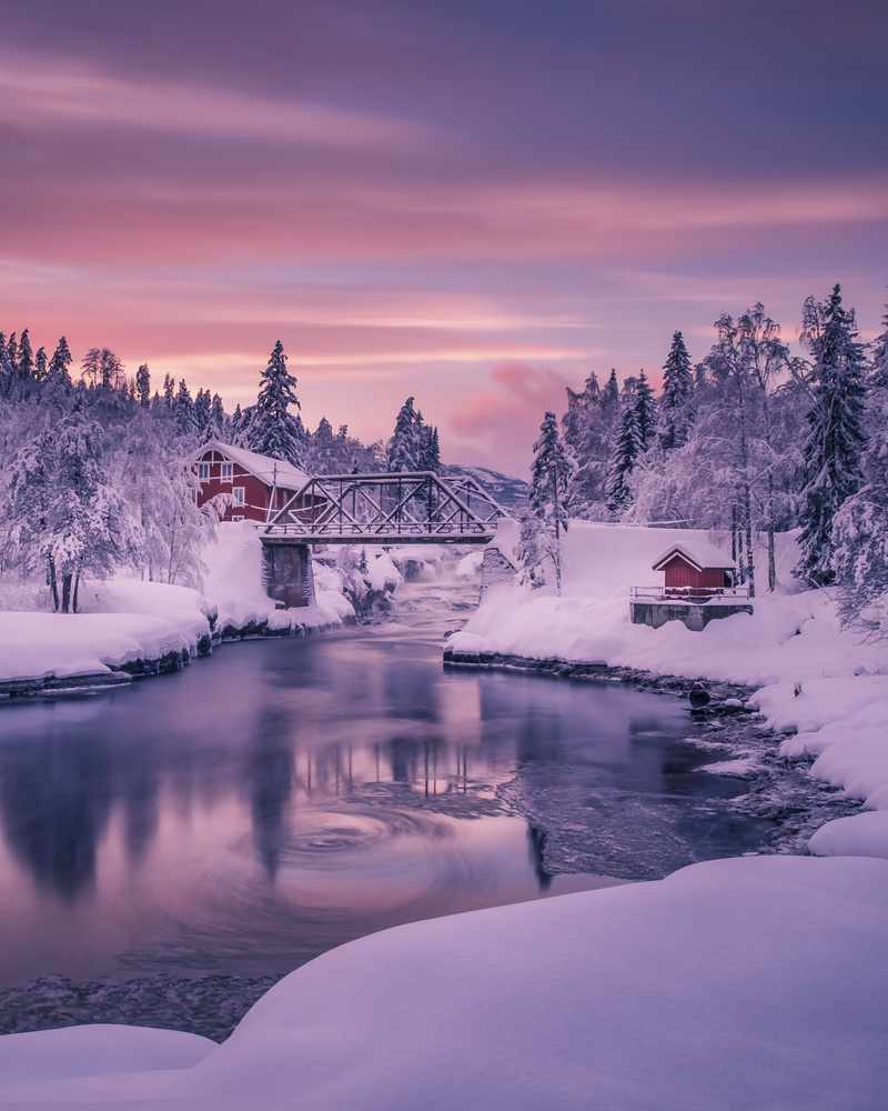 Winter in Norway by Roger Kristiansen