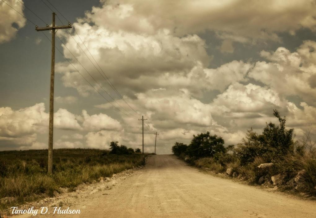 Dirt Road by Timothy Hudson