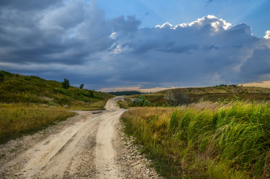Country Road by Timothy Hudson