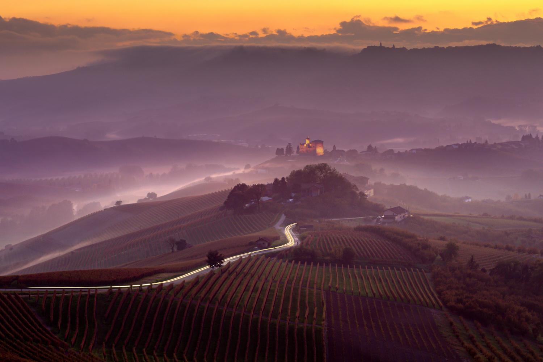 Towards The Enchanted Town | Grinzane Cavour, Italy by Luigi Sonnifero