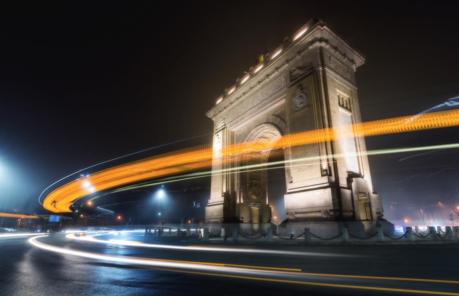 Triumphal Arch by Andrei Dima