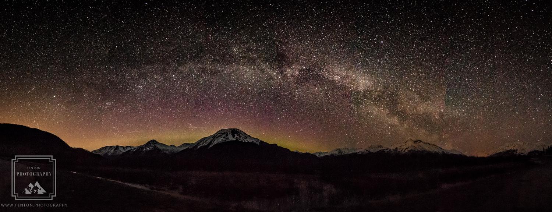 Chugach Milky Way by Fenton Photography