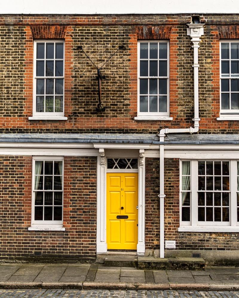 Little Yellow Door by John Carrion