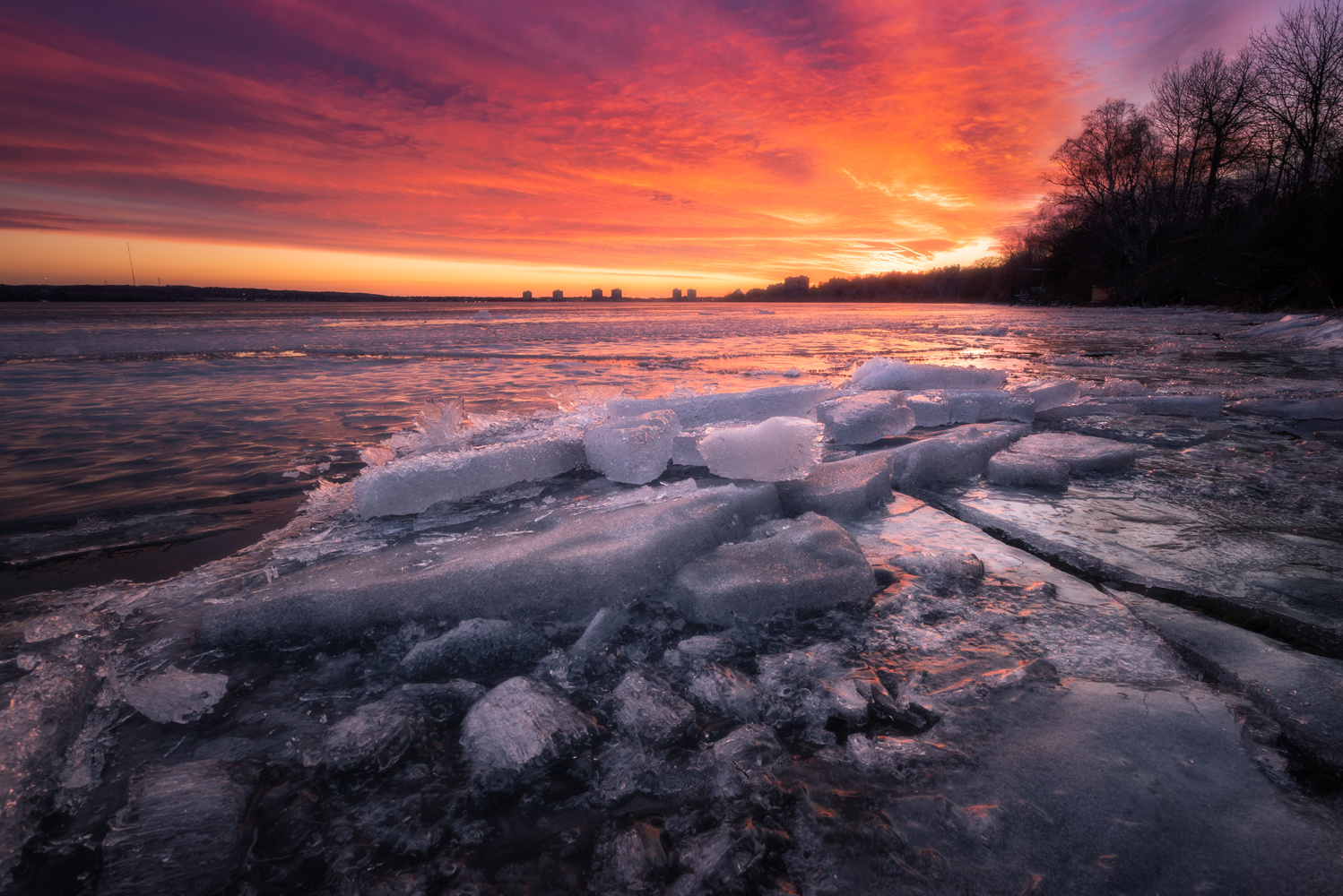 Fire & Ice by Will Dunn