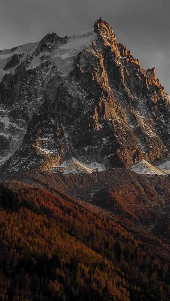 the Aiguille du Midi Peak by david huguet