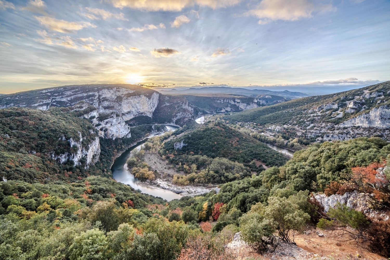 The Ardèche canyon (France) by david huguet
